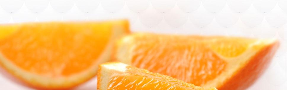 剥开皮的秭归脐橙更好看