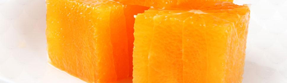 剥了皮的橙子图